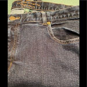 LAUREN JEANS CO. Size 16W dark blue